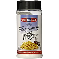 Gourmet Fries Seasonings Bottle, Salt and Vinegar, 12 Ounce