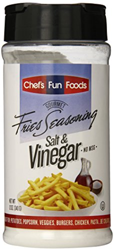 Gourmet Fries Seasonings Bottle, Salt and Vinegar, 12 Ounce (Make Your Own Butter Chicken Spice Mix)