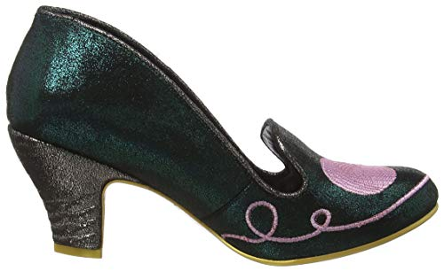 Violet Peg Choice Femme Fuzzy Green Irregular Vert Fermé E Bout Escarpins q0EaYO