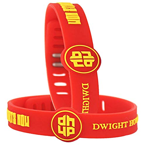 (IDL NBA Basketball Team Adjustable Silicone Bracelets Wristbands - Rubber Wristbands Party Favor Souvenir Gift - for Sports Fans (Dwight)