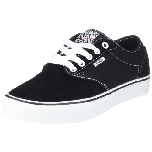 vans black and white atwood