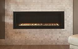 Empire Comfort Systems Boulevard MV Contemporary Linear Vent-Free 40k BTU Fireplace - NG