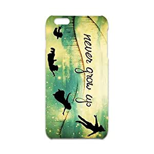never grow up Phone Case for Iphone 6 Plus 3D