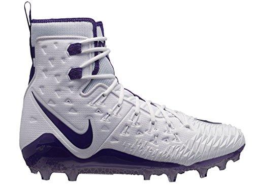 Nike Kracht Wilde Elite Td Mens 857063-103 Wit / Rechtbank Paars-court Purple