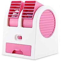 Cooler Portable mini air conditioner,Mini Usb Small Electric fan Air conditioner Air Desktop fan quiet personal table -A 11x12x15cm(4x5x6)