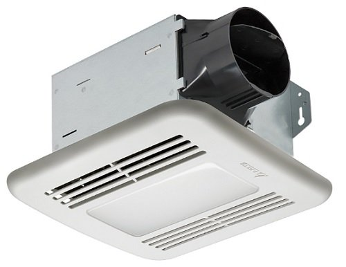 Exhaust Fan Light Combo - Delta Products Corporation ITG80LED Delta BreezIntegrity Series 80 CFM Fan/Dimmable LED Light, 11.3W, 1.3 Sones