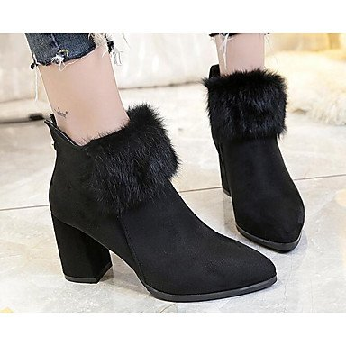 Fashion Boots Shoes Black RTRY EU39 For CN39 Summer Boots Pu Brown US8 UK6 Casual Women'S qXqZwI