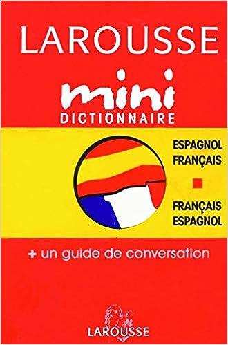 Amazon Fr Mini Dictionnaire Francais Espagnol Collectif Livres