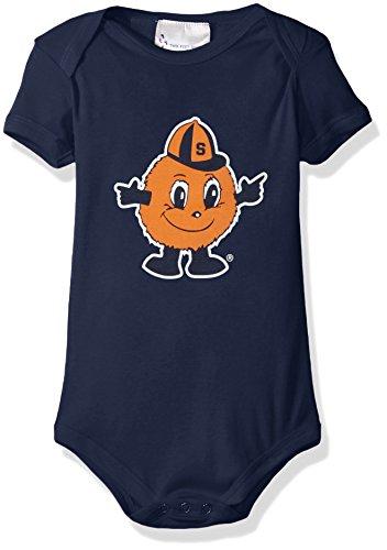 Two Feet Ahead NCAA Syracuse Orange Children Unisex Lap Shoulder Creeper,12Mo,Navy by Two Feet Ahead