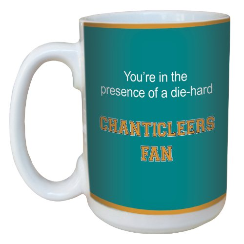 Tree-Free Greetings lm44673 Chanticleers College Basketball Ceramic Mug with Full-Sized Handle, 15-Ounce