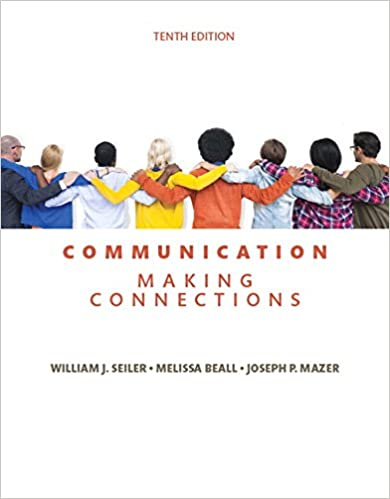 Communication making connections 10th edition 9780134184975 communication making connections 10th edition 10th edition fandeluxe Gallery