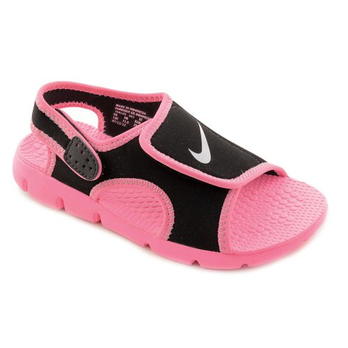 b2f9fe376019 Nike Sunray Adjust 4 (GS PS) Youth Girls Size 1 Pink Slingback - Import It  All