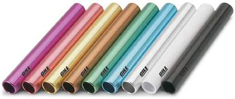 Gill Athletics Aluminum Batons - Set of 8