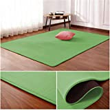 Thick Coral Fleece mat Living Room Coffee Table Carpet mat Children's Room Crawling Rug Non-Slip Bed Blanket