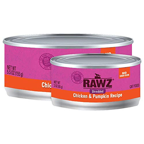 Rawz Shredded Meat Canned Cat Food