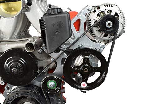Corvette LS Alternator & Power Steering Pump Bracket Accessory Kit Turbo LS1 551521X-1 (Corvette Power Steering Pump)