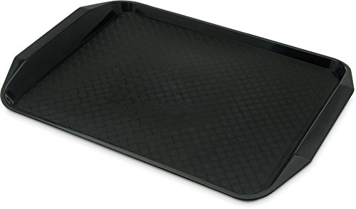 Carlisle CT121703 Cafe Handled Plastic Cafeteria/Fast Food Tray, NSF Certified, BPA Free, 17