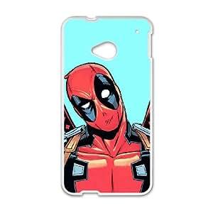 HTC One M7 Cell Phone Case White Marvel superhero comic xfvr