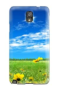 Durable Defender Case For Galaxy Note 3 Tpu Cover(beautiful S )