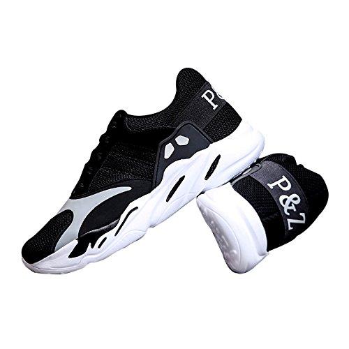 Uomini Da Bianco Traspirante Jogging Scarpe Stile Di Nuovi Viaggio Maglia Nero Di E Casuali Scarpa Tennis Corsa Scarpe Wingfooted Sport Da Di Da In Ep1wvEUq