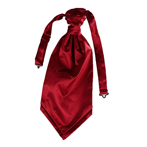 Event Mens UK whole wedding Tie Matching Wedding Decor Premium Party Cravat Burgundy for ZI1xH1wdqB