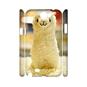 ALI Hard Lama Pacos 3D Diy For Iphone 4/4S Case Cover [Pattern-1]