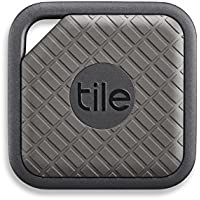 Tile Sport - Key Finder. Phone Finder. Anything Finder (Graphite) - 1 Pack