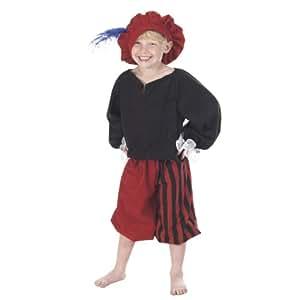 Kids - Disfraz de cortesano para niño, talla 140 cm