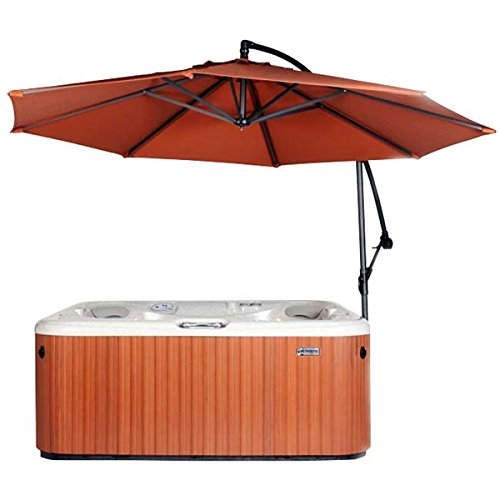 Cover Valet 705554678568 Spa Side Umbrella, Rust (Cover Valet Spa)