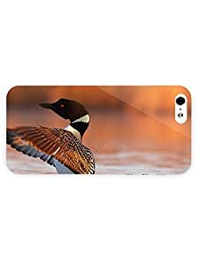 3d Full Wrap Case for iPhone 5/5s Animal Duck On The Lake81