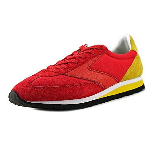 Brooks Womens Vanguard True Red / Vibrant Yellow