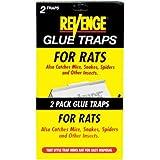 Bonide 47054 Revenge® Glue Traps For Rats 2 Count