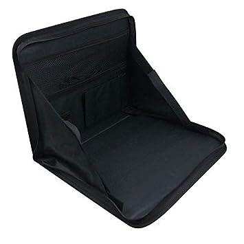 ALIXIN-CP079 Bolsa portátil plegable multiusos de viaje portátil Soporte para automóvil,Soporte para computadora portátil para automóvil,Asiento trasero ...