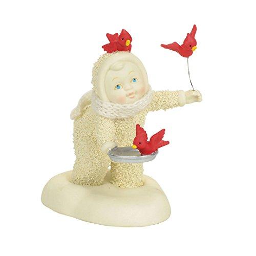 "Department 56 Snowbabies ""In Flight Meal"" Porcelain Figurine, 4"""