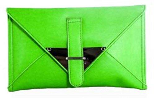 Mujer Mano Cartera Verde Handbags Para Sintético De Girly wx6Cq8pw
