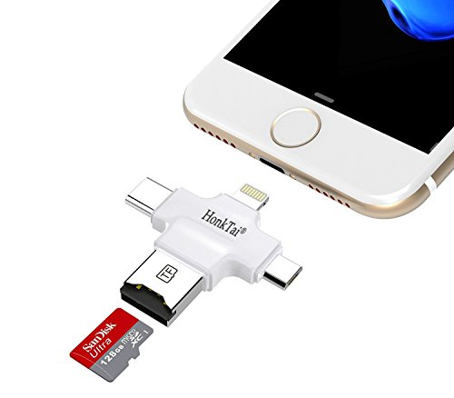 HonkTai Lightning Type C Reader Camera