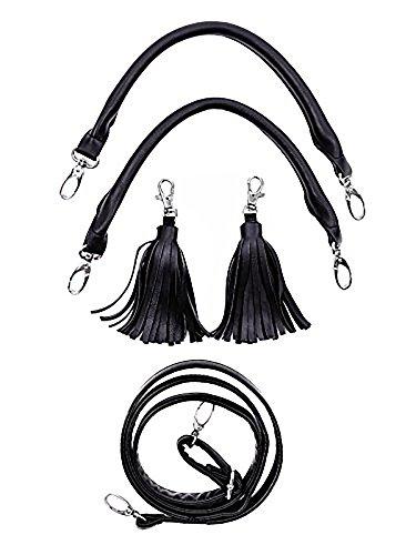 Restyle - Bolso de asas para mujer negro