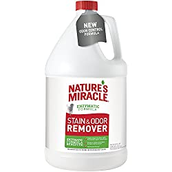 Nature's Miracle P-96968 Dog Stain and Odor Remover, 4/128 oz