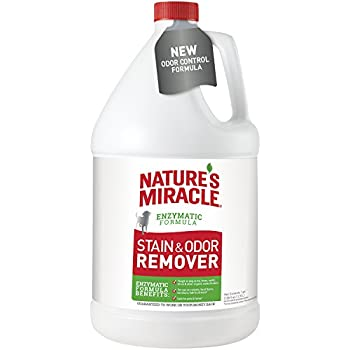 Nature's Miracle P-96968 Dog Stain and Odor Remover,128 oz