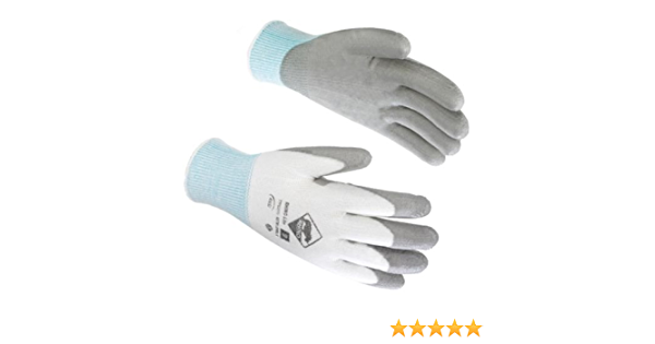 2 PAIRS SKYTEC TONS TP3 CUT RESISTANT GLOVES size 9 Large