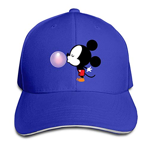 Shenigon Balloon Mickey Mouse Cap Unisex Low Profile Cotton Hat Baseball Caps Blue ()