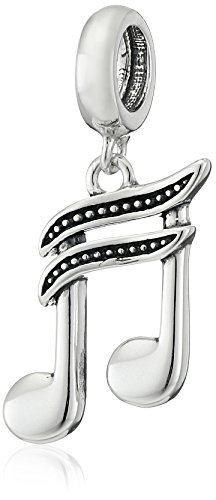 Music Pugster (Chamilia Sterling Silver High Note Bead Charm)
