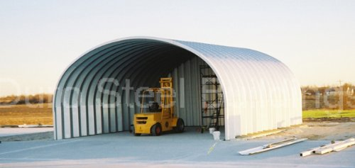 Duro Span Steel S20x20x12 Metal Building Kit Factory Direct New DIY Carport Shed