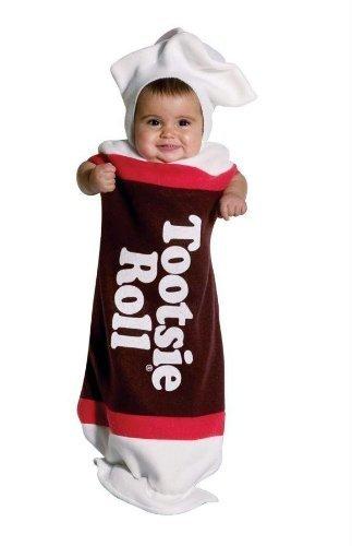 Tootsie Roll Child Costume (Tootsie Roll Bunting Costume -)