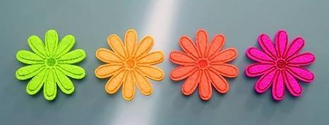 Feutrine Feutre GLOREX Feutre Fleurs Moyen Orange 4/unit/és 11 x 8,5 x 2 cm