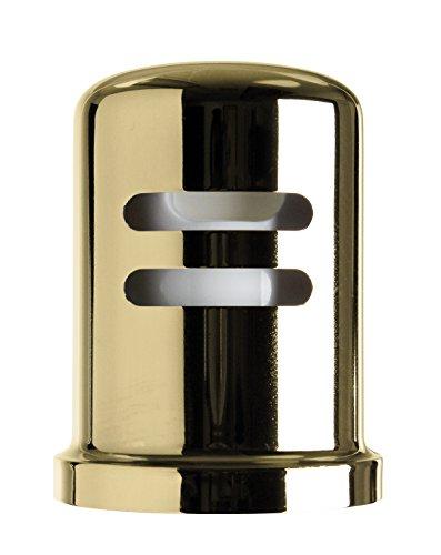 Westbrass D201-1-01 Air Gap Cap, Polished Brass (Gap Brass Air)