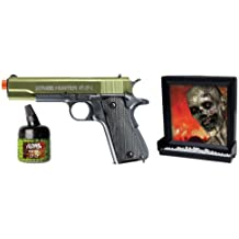 Zombie Hunter Target Pack with Airsoft Pistol and Accessories