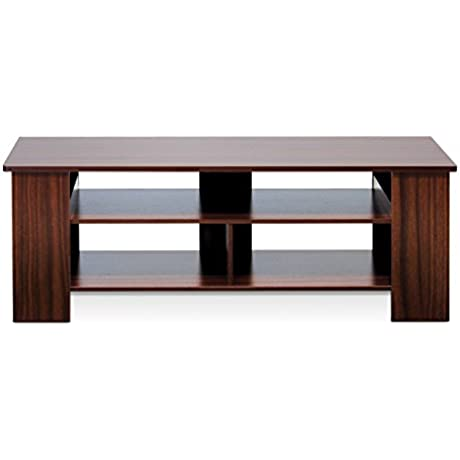 Furinno FNAJ 11109 Boyate TV Entertainment Stand Walnut