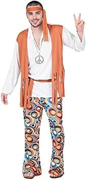 Fyasa 701860-T04 – Disfraz de hippie, para niño, grande: Amazon ...