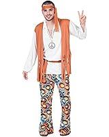 Fyasa 701860-T04 – Disfraz de hippie, para niño, grande